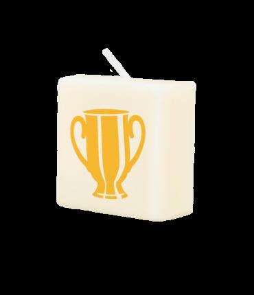 Letter Kaarsje - Trophy