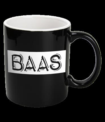Black&White Mugs - Baas-Black