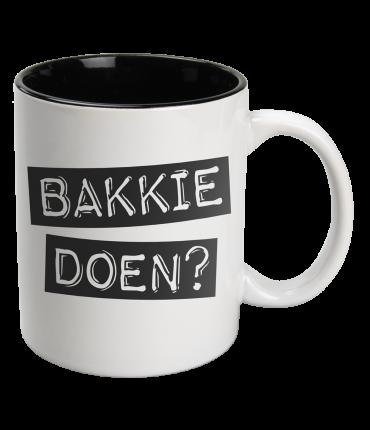 Black & White Mugs - Bakkie-White