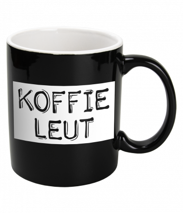 Black & White Mugs - Koffieleut-Black
