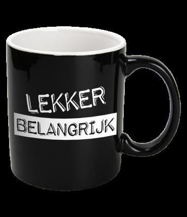 Black & White Mugs - Belangrijk-Black