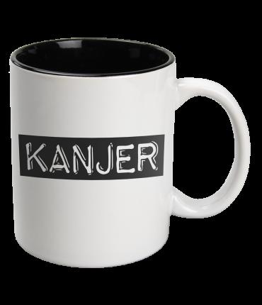 Black & White Mugs - Kanjer-White