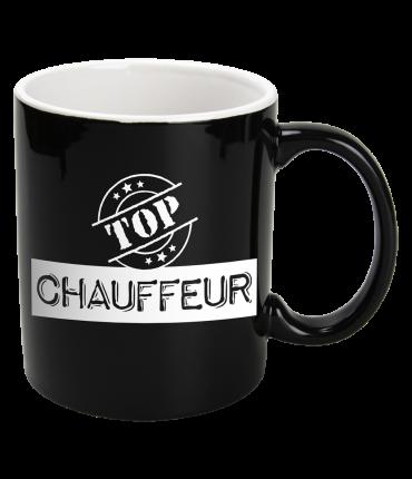 Black & White Mugs - Chauffeur-Black