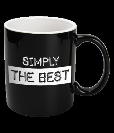 Black&White Mugs - Simply-Black