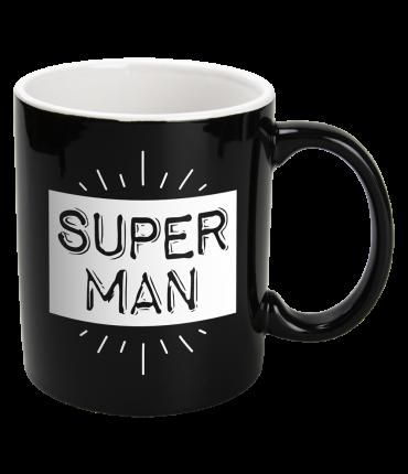 Black&White Mugs - Superman-Black