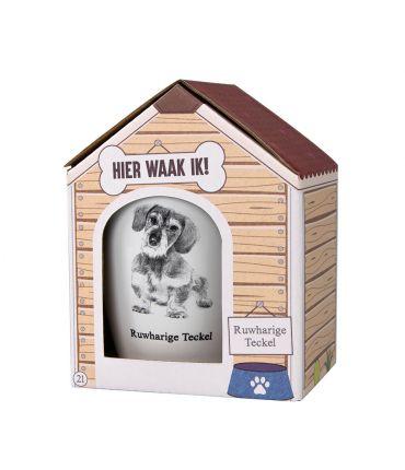 Dog mug - Ruwharige Teckel