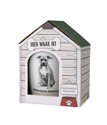 Dog mug - Staffordshire Bullterrier