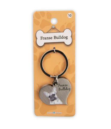 Dieren sleutelhangers - Franse Bulldog