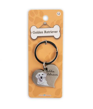 Dieren sleutelhangers - Golden Retriever