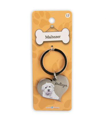Dieren sleutelhangers - Maltezer