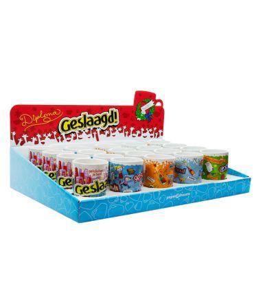 Counterbox Geslaagd cartoonmokken