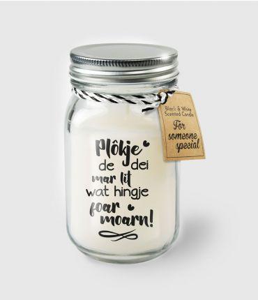 Black & White scented candles - Plokje de dei