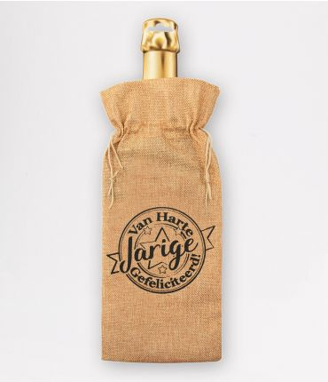 Bottle gift bag - Jarige
