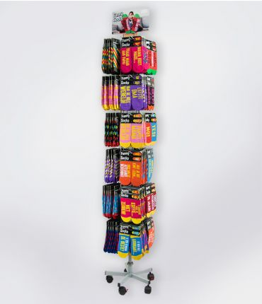 Funny Socks shopbox (incl. display en compensatie)