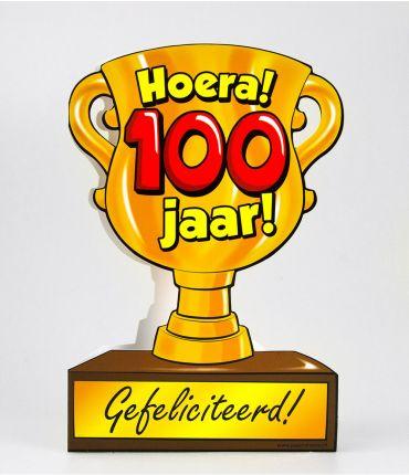 Trofee kaart - 100 jaar