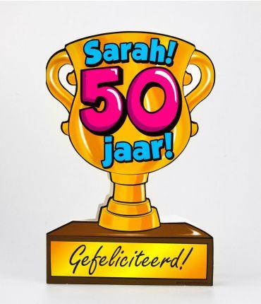 Trofee kaart - Sarah