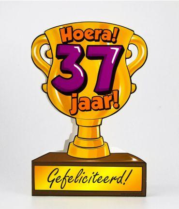 Trofee kaart - 37 jaar
