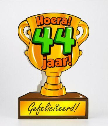 Trofee kaart - 44 jaar
