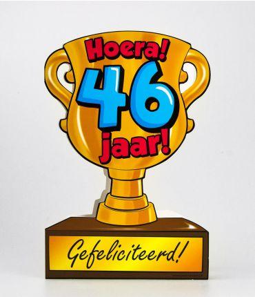 Trofee kaart - 46 jaar