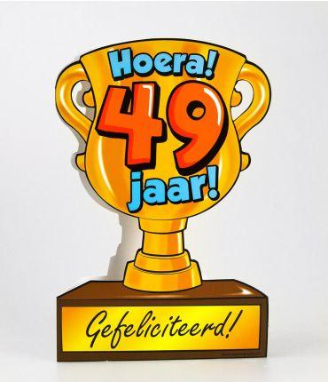 Trofee kaart - 49 jaar