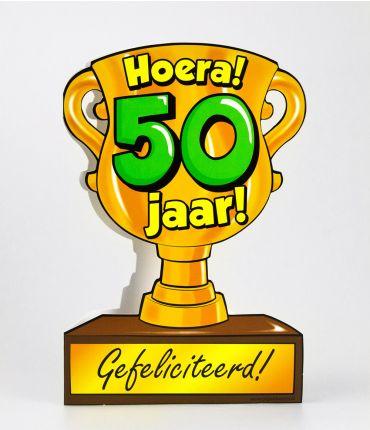 Trofee kaart - 50 jaar
