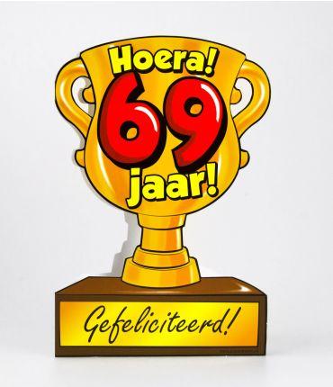 Trofee kaart - 69 jaar