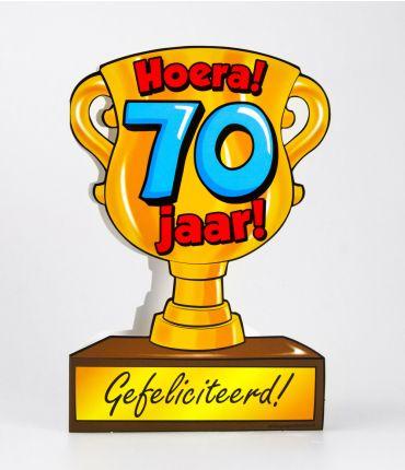 Trofee kaart - 70 jaar