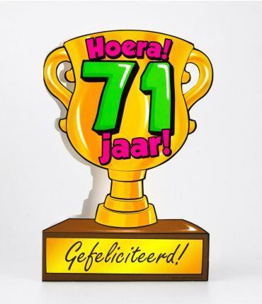 Trofee kaart - 71 jaar