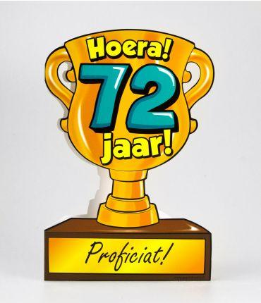 Trofee kaart - 72 jaar