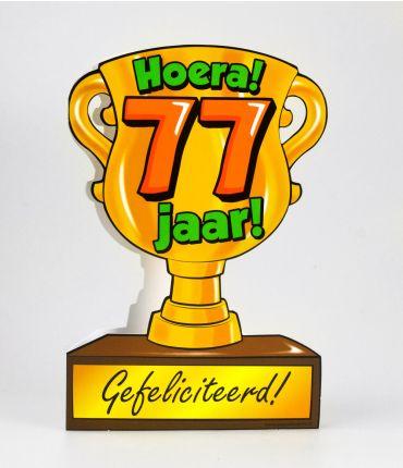 Trofee kaart - 77 jaar