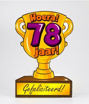 Trofee kaart - 78 jaar