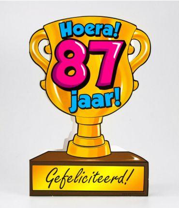 Trofee kaart - 87 jaar