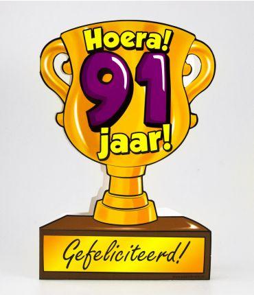 Trofee kaart - 91 jaar