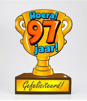 Trofee kaart - 97 jaar