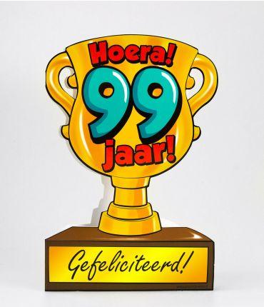 Trofee kaart - 99 jaar