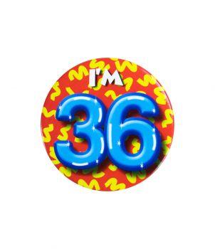 Button klein - i'm 36