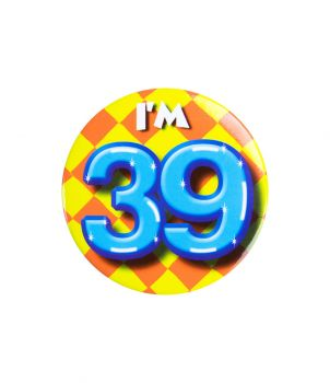 Button klein - i'm 39