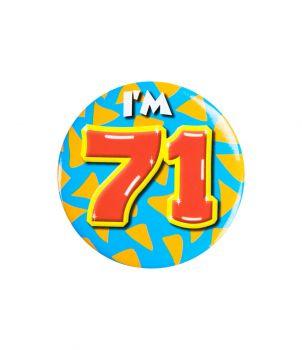 Button klein - i'm 71
