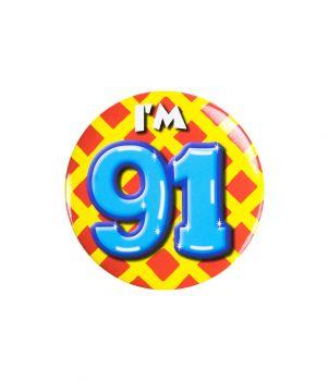 Button klein - i'm 91