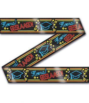 Neon party tape - Geslaagd