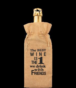 Bottle gift bag - The best wine