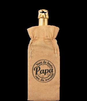 Bottle gift bag - Papa