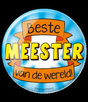Button XL - Meester