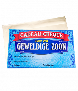 Gift Cheque - Zoon