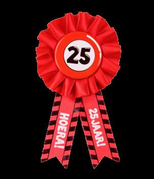Party Rozetten - 25 jaar