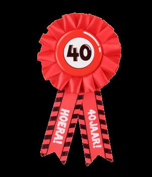 Party Rozetten - 40 jaar