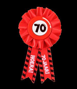 Party Rozetten - 70 jaar