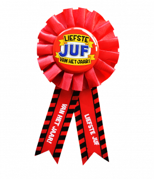 Party Rozetten - Juf