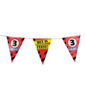 Party Vlaggen - 3 jaar