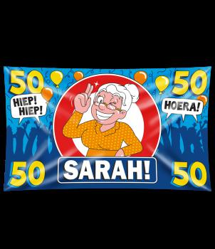 Gevel vlag - Sarah